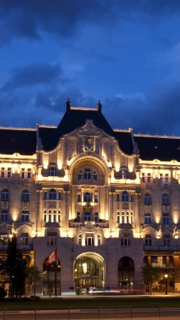 Four Seasons Hotel Gresham Palace, Budapest, Best Hotels of 2017, tourism, travel, vacation, resort (vertical)