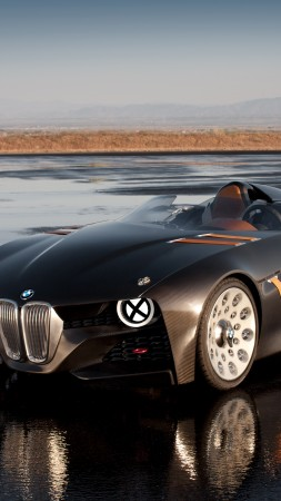BMW 328, HD, 4k wallpaper, Hommage, concept, supercar, luxury cars, sports car, review, test drive, speed, cabriolet, front (vertical)