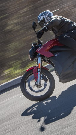 Zero SR, Zero S, Zero SR, 2015, motorcycle, superbike, bike, review, test drive, speed (vertical)