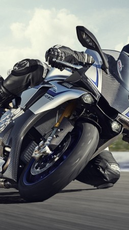 Yamaha YZF-R1, motorcycle, racing, sport, bike, test drive, buy, rent, road (vertical)