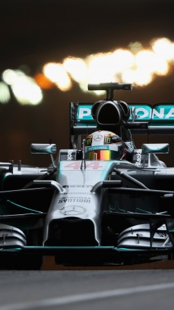 Mercedes-Benz, Formula 1, F1, Lewis Hamilton, helmet, specs, sports car, racing (vertical)