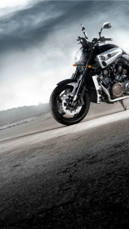 Yamaha VMAX, V-Max, motorcycle, cruiser, bike, test drive, buy, rent, road (vertical)