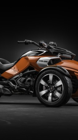 BRP Can-Am Spyder, F3-S, roadster, motorcycle, cruiser, review, test drive, buy, rent (vertical)