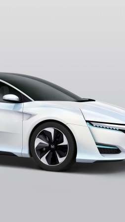 Honda FCv, hydrogen, Clarity, electric cars, sports car, test drive, review, concept, side (vertical)