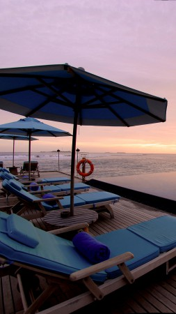 Anantara Veli Resort & Spa, Maldives, Best Hotels of 2015, tourism, travel, resort, vacation, sunbed, sunset, sunrisem pool, sea, ocean