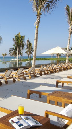 Grand Velas Riviera Maya, Mexico, Best Hotels of 2015, tourism, travel, resort, vacation, palms, sunbed