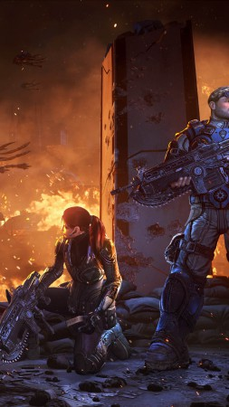 Gears of War Judgment, shooter, Gears of War, GoW, Xbox, review, screenshot, gameplay (vertical)