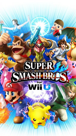 Super Smash Bros, Nintendo, 3DS, Wii U, Brawl, 3D, gameplay, review, screenshot (vertical)