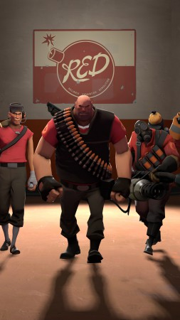 Team Fortress 2, TF2, FPS, mod, modification, screenshot, 4k, 6k, 8k, Ultra HD, HD, characters, review (vertical)
