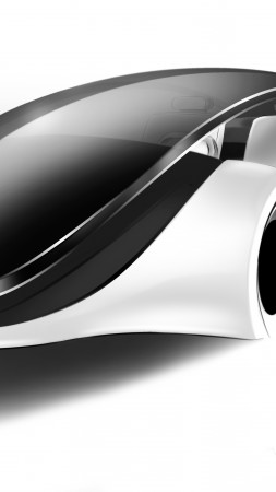 Apple iCar, code name Titan, concept, electric cars, city cars, ecosafe (vertical)