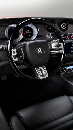 Equus Bass 770, Best Sports Cars 2015, fastback, muscle car, sports car, Detroit, test drive, speed, interior (vertical)