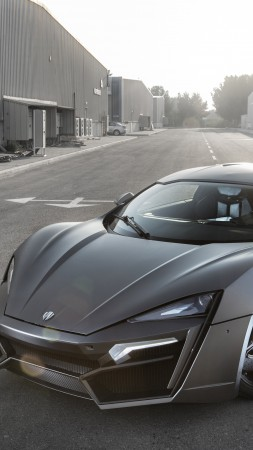 Lykan HyperSport, supercar, W Motors, sports car, luxury cars, speed, test drive, black, road