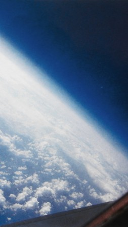 earth, space, clouds (vertical)