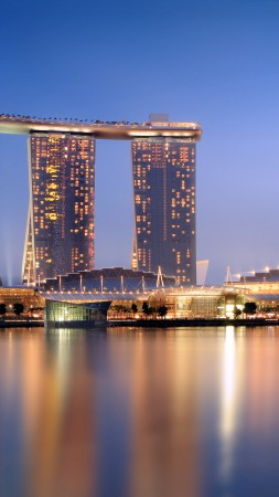 Marina Bay Sands, hotel, travel, booking, pool, casino, Singapore (vertical)