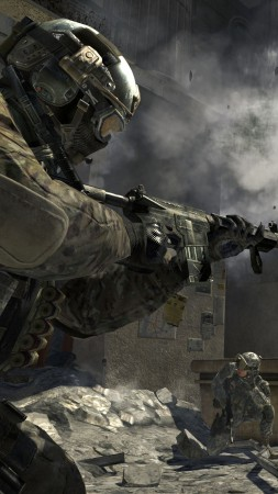 Call of Duty, World at War, shooter, CoD, soldier, WaW, zombie, iOS, review, screenshot, gameplay (vertical)