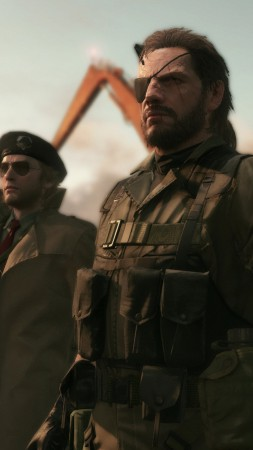 Metal Gear Solid V, The Phantom Pain, Best Game 2015, MGS, stealth, PS4, xBox one, PC, gameplay, review, screenshot