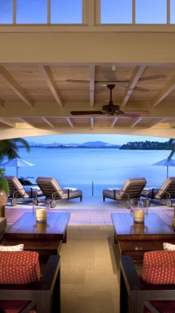 Rosewood Resort, Antigua, Jumby Bay, Best Hotels of 2015, tourism, travel, resort, vacation, room, sea, ocean, booking (vertical)