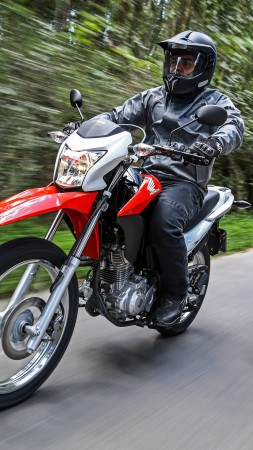 Honda Bros 160 MXR-160, Best Bikes 2015, motorcycle, racing, bike, review, test drive, off-road motorcycles (vertical)