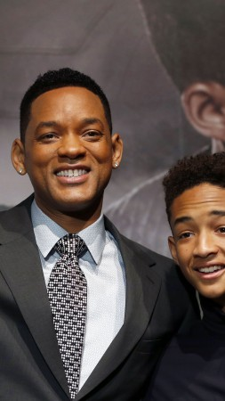 Will Smith, Jaden Smith, Most Popular Celebs in 2015, actor, producer, rapper, After Earth, Focus, Suicide Squad 2016, son, father (vertical)