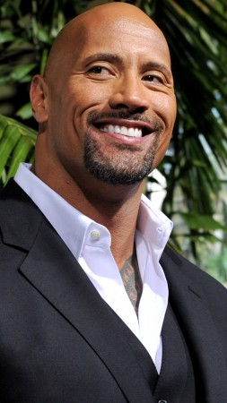 Dwayne Johnson, Most Popular Celebs in 2015, actor, producer, wrestler, Transformers 5 2016, Furious 7, San Andreas (vertical)
