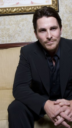 Christian Bale, Most Popular Celebs in 2015, actor, Bruce Wayne, American Hustle, The Dark Knight Rises, Batman, Jungle Book: Origins 2017 (vertical)