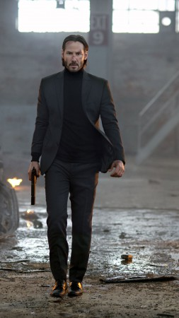 Keanu Reeves, John Wick, Most Popular Celebs in 2015, Best Movies of 2015, actor (vertical)