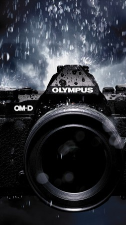 Olympus OM-D E-M5 MkII, Hi-Tech News of 2015, photo camera, black, review, Best Cameras 2015 (vertical)