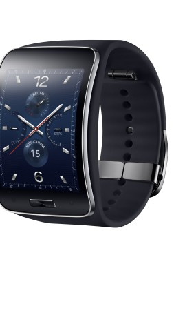 Samsung Gear S, watches, luxury watches, smart watches review, metal, display (vertical)