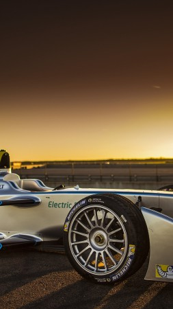 FIA Formula E 2015, sports car, electric cars, Virgin Racing Formula E Team, electrically powered sports car (vertical)