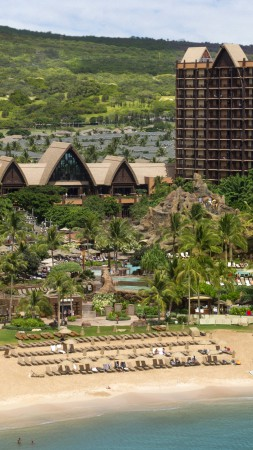 Disney Resort & Spa, Aulani, Best Hotels of 2017, The best hotel pools 2017, tourism, travel, resort, vacation, beach, sea (vertical)