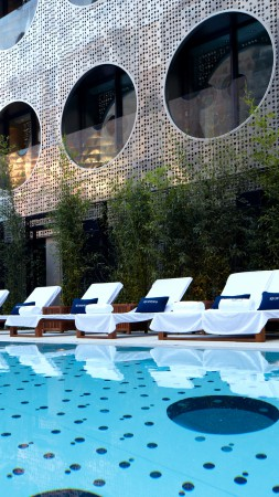 Dream Downtown Hotel, New York City, USA, The best hotel pools 2017, tourism, travel, resort, vacation, pool, sunbed (vertical)