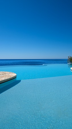 Costa dei Fiori, Sardinia, Italy, The best hotel pools 2017, tourism, travel, resort, vacation, pool, sea, sky, blue