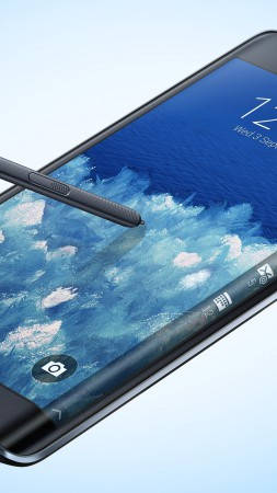 Samsung Galaxy Note Edge, smartphone, phablet, review, sidebar