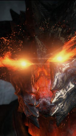 Unreal Engine 4, free game engine, demon face, monster, specifications, review, PS4, Xbox One, PC (vertical)