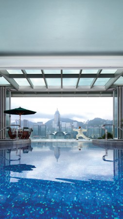 The Peninsula Hong Kong, China, Best Hotels of 2017, tourism, travel, resort, vacation, pool (vertical)