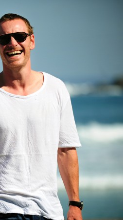 Michael Fassbender, Most Popular Celebs in 2015, actor, beach (vertical)