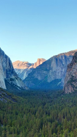 Yosemite, 5k, 4k wallpaper, forest, OSX, apple, mountains (vertical)