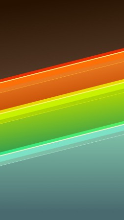 lines, 4k, HD wallpaper, android, wallpaper, background, orange, red, blue, pattern (vertical)