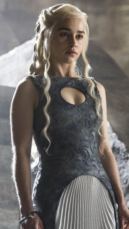 Game of Thrones, Best TV Series of 2015, Emilia Clarke, Daenerys Targaryen, season 5 (vertical)