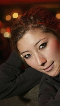 Dichen Lachman, Most Popular Celebs in 2015, actress, sofa (vertical)