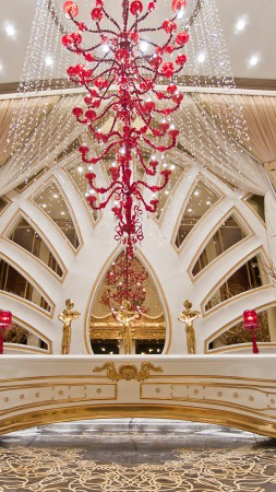 Galaxy Macau, Cotai Strip, China, Casino, Best Hotels of 2015, tourism, resort, travel, vacation, hall, booking