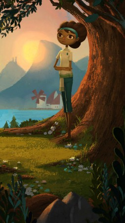 Broken Age: Act 2, 5k, 4k wallpaper, Best Games 2015, game, PC, PS4, screenshot (vertical)