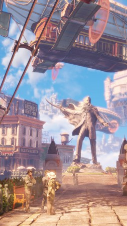 BioShock Infinite: Burial at Sea, Best Games, game, shooter, fps, PC, Xbox 360, PS3 (vertical)
