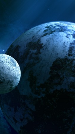 Kepler-452b, Exoplanet, Planet, space, stars