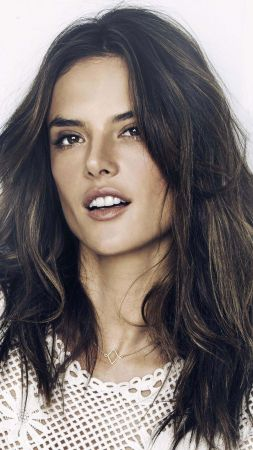 Alessandra Ambrosio, Top Fashion Models 2015, model, Victoria's Secret Angel, brunette (vertical)