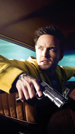 Aaron Paul, Breaking Bad, Most Popular Celebs in 2015, Best TV Series of 2015, actor, crime (vertical)