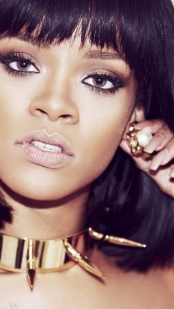Rihanna, Top music artist and bands, singer, actress, red hair