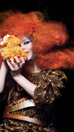 Bjork, Most Popular Celebs, singer, actress (vertical)
