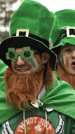 Saint Patrick's Day, Ireland, festival, green