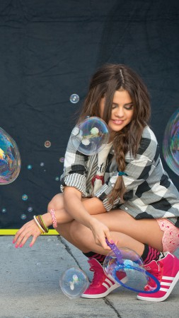 Selena Gomez, Top music artist and bands, singer, actress (vertical)